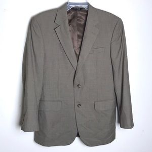 Jos. A. Bank Taupe Tan Blazer Sports Coat Suit